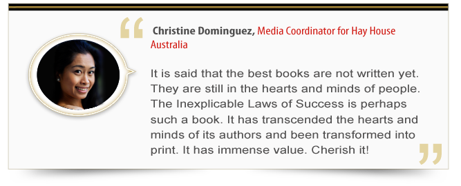 Endorsement - Christine Dominguez