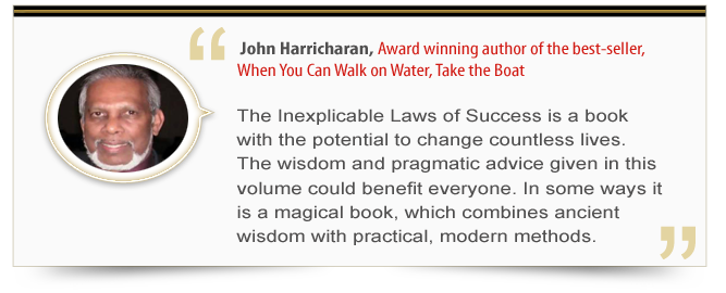Endorsement - John Harricharan