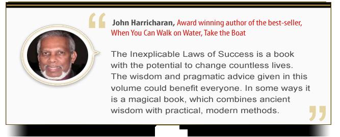 Endorsement - John Harricharan