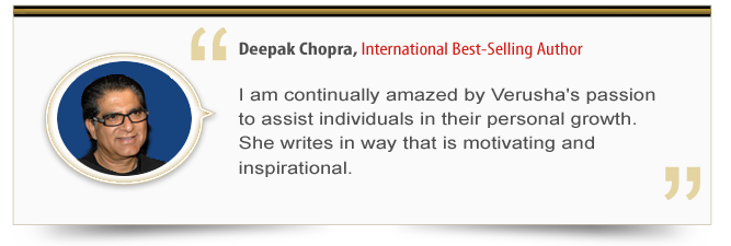 Endorsement - Deepak Chopra